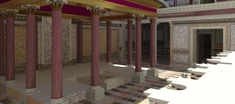 domus transitoria nerone roma sottosopra
